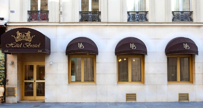 R servation d 39 h tel h tels france paris 11 bristol paris for Hotel paris 11