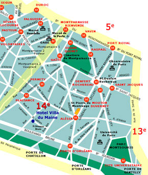 Carrevolutis - Paris (Paris Rue Ledion - Kompass)