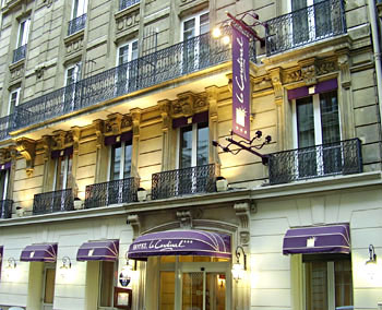 Le Cardinal Hotel Is Situated Between The Opera Garnier And Famous Sacre Coeur Basilica You Will Be Won Over By 3 Star Comfort Of This Newly
