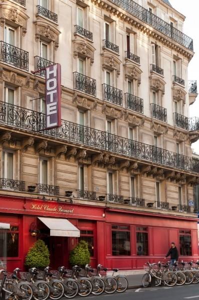 Hotel booking hotels france paris 05 claude bernard for Reservation hotel paris