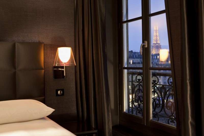 The First Hotel Paris Tour Eiffel Is A 4 Star That Enjoys An Ideal Location Just Few Minutes Walk From Tower Les Invalides