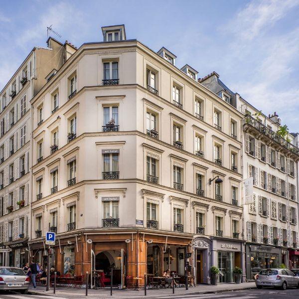R servation d 39 h tel h tels france paris 17 art hotel for Reservation hotel paris